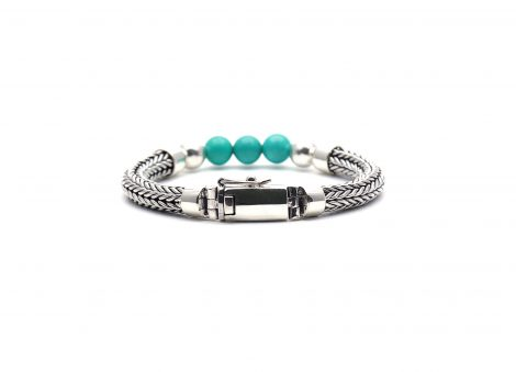925 silver beads bracelet